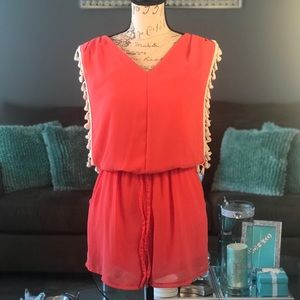 Made in Italy Pink Romper